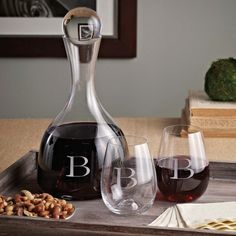 Exclusively Weddings | Lenox Wine Decanter