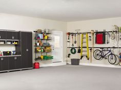 Garage organization tips.