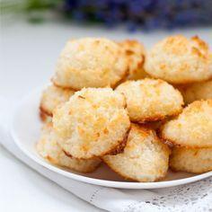 Pojďte s námi zdravě jíst a být fit! Coconut Cookies, Coconut Macaroons, Sin Gluten, Gluten Free, Dairy Free, Cookie Recipes, Snack Recipes, Snacks, Macroons Recipe