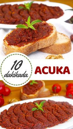 Acuka (with video) - Yummy Recipes, Yummy Recipes, Crockpot Recipes, Dessert Recipes, Yummy Food, Desserts, Beef Tagine, Appetizer Salads, Turkish Recipes, Easy Meals
