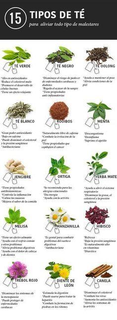 15 tés e infusiones para aliviar cualquier dolencia                                                                                                                                                      Más