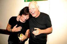 Jeff Beck and David Gilmour