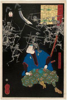 Tsukioka Yoshitoshi~~~~ The demons a warrior has to fight...sw