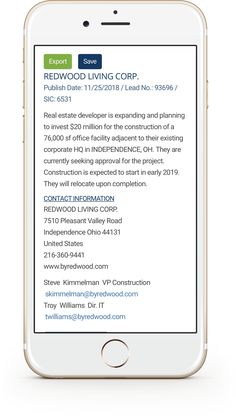 The leading source of prospecting data on office expansion and relocation project leads since Free samples! Photo Enhancer, Office Relocation, One Deal, Phone Interviews, Accounting Firms, Search Video, Business Contact, Security Companies, How To Start Conversations