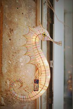 Petit Pan seahorse lantern