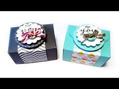 Envelope Punch Board: Mini Box Tutorial - YouTube