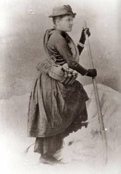 Rainier Notable:  Fay Fuller - First Woman to Summit Mt. Rainier