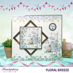 Floral Breeze Page 2 Kirigami, Kanban Cards, Hunkydory Crafts, Craftwork Cards, Card Companies, Card Patterns, Sympathy Cards, Hunky Dory, Creative Cards