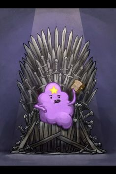 I'm so conflicted... Do I pin this to my GoT board or my Adventure Time board?