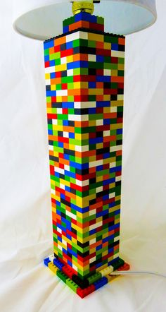 Colorful Column Desk Lamp