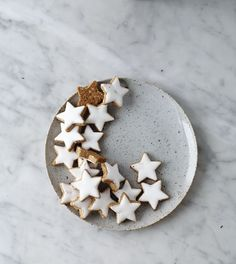 Pinned for inspiration: little star cookies. For Night Under the Stars.