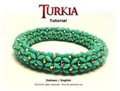Tutorial Orchidea Bracelet Instant download PDF by FucsiaStyle