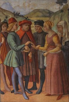 Image result for 15th century men's renaissance florence
