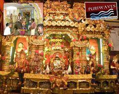 Jhulan Jatra At Puri, Jaganath Ballav Matha at Puri which is known as playing garden of Lord Jagannath.