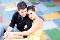 Spanish Village Engagement Session - San Diego Wedding Photographers