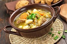 Ajiaco, a potato and chicken stew, is the first dish that comes to mind whenever I'm asked about traditional foods of Cuba, my home country. Chicken Wild Rice Soup, Vegetable Soup With Chicken, Chicken And Vegetables, Veggies, Burgoo Recipe, Fall Soup Recipes, Stone Soup, Beef Stew Meat, Cuban Recipes