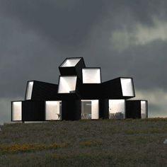 Architectura - James Withaker speelt met licht en zicht in radiale containercompositie