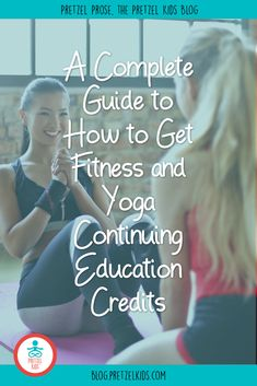 Are you a fitness trainer looking for CEUs for NASM or AFAA? Pretzel Kids yoga is an approved provider for Yoga For Kids, Exercise For Kids, Fitness Certification, Money And Happiness, Fitness Facts, Good Motivation, Fitness Activities, Yoga Teacher Training, Continuing Education