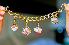 JC charm bracelet