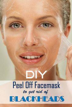 DIY Peel off Mask to Get Rid of Blackheads