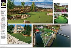 Congratulations to our team for being featured in this month's Golf Magazine! Golf Magazine, Golf Courses, Congratulations, Paradise, Heaven
