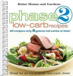 Phase 2 Low-Carb Recipes