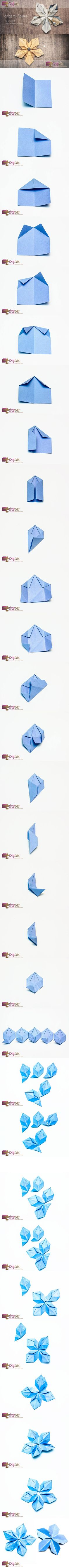Super origami flowers tutorial step by step 64 Ideas Diy Origami, Gato Origami, Origami Modular, Origami And Kirigami, Origami Paper Art, Origami Folding, Useful Origami, Origami Stars, Diy Paper