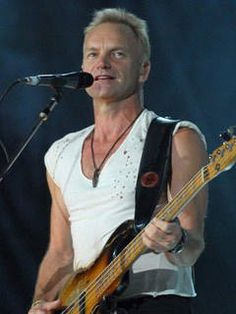 Sting, 2007 - during the first leg of their US tour with The Police