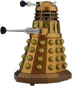Doctor Who Gold Dalek Bluetooth Speaker