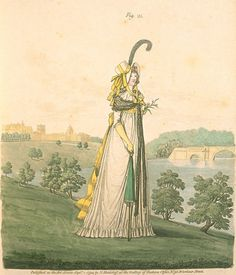 Gallery of Fashion, Figure 25, September 1794.