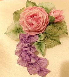 Lambs and Ivy Designs Traditional Ribbonwork - Some of our previous work