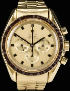 cc74f9d93b9 Omega Speedster Professional Watch Owned by Astronaut Alan Bean Sells for   50