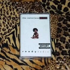 The Notorious B.I.G. Ready To Die Cassette Tape by TRASHPALACEvhs