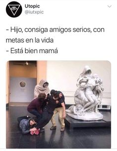 Page 3 Read Desconfianza from the story viviendo con el nerd ✧ taekook by gguktaebae (tofi) with reads. Best Memes, Dankest Memes, Funny Images, Funny Pictures, F4 Boys Over Flowers, Funny Spanish Memes, Pinterest Memes, Funny Posts, Laughter