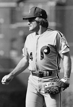 Pete Rose Phillies Baseball, Baseball Games, Baseball Players, Mlb Uniforms, Pete Rose, Miami Marlins, National League, Philadelphia Phillies