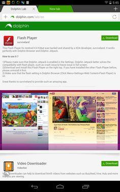 Flash Player!! very useful Flash Player! muy útil