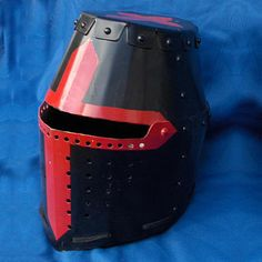 Great Helm with Rivets