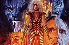 Howling II Blu-ray Review (1985) Horror Directed by Philippe Mora The Seven Ups, Sybil Danning, The Howling, Blu Ray Movies, Classic Films, Werewolf, Horror Movies, Cinema