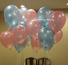 Much balloon how latex helium 12