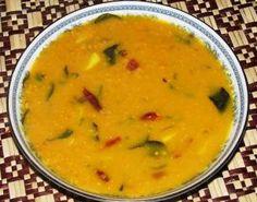 Dhal Curry Red Split | Vegitable | Sri Lankan Recipes