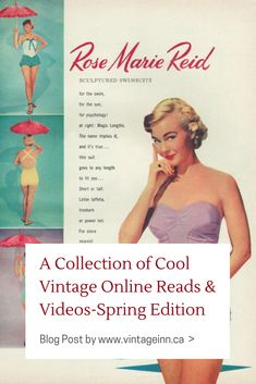 c92bf25025 Collection of Cool Vintage Online Reads  amp  Videos. Blog Post by www. vintageinn