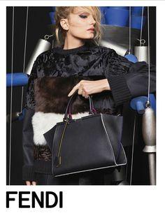 Fendi FW15 Photography Karl Lagerfeld Model Lily Donaldson