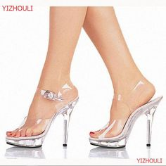 13cm high-heeled shoes lady platform crystal sandals low price dance shoes  5 inch high heels sexy stripper shoes 4a4a38d50185