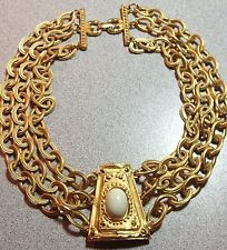 Vtg GIVENCHY PARIS NEW YORK Haute Couture Big Bold Runway Necklace! An identical necklace is listed on 1stdibs