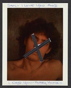 Polaroid de Mapplethorpe para Sam Wagstaff