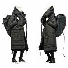 """missing-light: """" BARBARA I GONGINI oversized padded coat """""""
