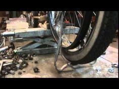 bike build, center stand