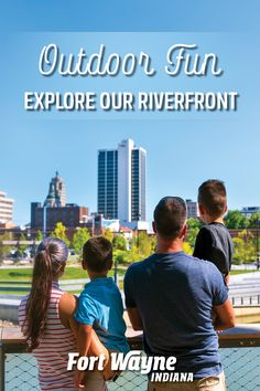 Since Fort Wayne's establishment, our three rivers: the St. Marys, the St. Joseph, and the Maumee, have been an intrinsic part of the city. Today, you can spend a whole day exploring Riverfront Fort Wayne's attractions and amenities – offering outdoor fun and adventure for the whole family. Riverside Cafe, Party Barge, Double Kayak, Airboat Rides, Fort Wayne Indiana, Parks Department, Canal Boat, Three Rivers, Canoe And Kayak
