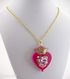 PREORDER Sailor Moon Inspired Chibi Moon Compact by kumacrafts, $45.00