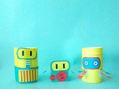 Free Printable Build a Robot